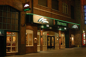 Harvester (restaurant) - Harvester in The Printworks, Manchester