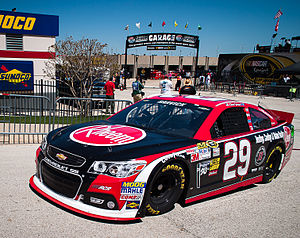 Rheem - The Rheem-sponsored car of Kevin Harvick in 2013