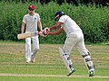 Hatfield Heath CC v. Takeley CC on Hatfield Heath village green, Essex, England 10.jpg