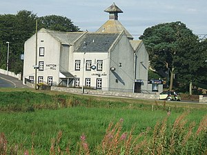 Hatton, Aberdeenshire - Hatton Mill, once a water mill, now converted into a pub