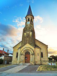 Haudiomont L'église Saint-Urbain.JPG