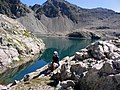 Hautes-Alpes Les Lacs de Crupillouse Randonneuse 082005 - panoramio - rene boulay.jpg
