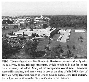 Paul Ramsey Hawley - Hawley Army Community Hospital, Fort Benjamin Harrison, Indiana in 1983
