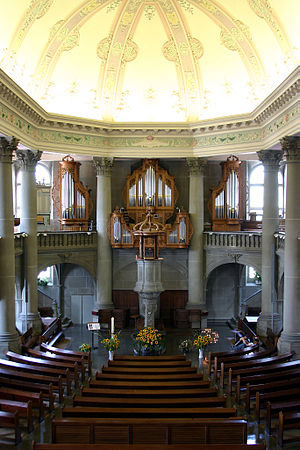 Church of the Holy Ghost, Bern - Image: Heiliggeist Kirche Bern 6061