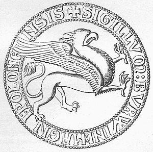 Henry Borwin I, Lord of Mecklenburg - Seal of Henry Borwin I