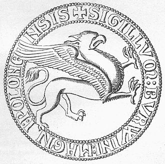 Henry Borwin I, Lord of Mecklenburg - Seal of Henry Borwin I