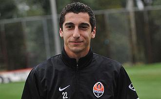 Henrikh Mkhitaryan - Mkhitaryan training with Shakhtar in 2010