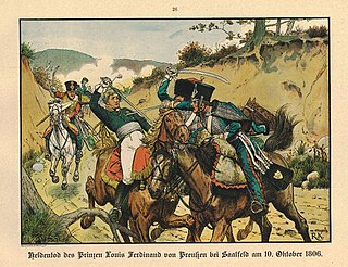Battle of Saalfeld battle