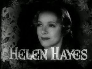 Cropped screenshot of Helen Hayes from the fil...