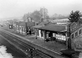 Helmdon for Sulgrave railway station (1963).jpg