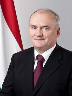 Csaba Hende - Image: Hende Csaba Portrait