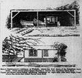 Henry Bertlemann's residence at Waikiki, where the first shots of the Rebellion were fired, Advertiser sketch, 1895.jpg
