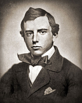 Henry Adams - Harvard graduation photo: 1858