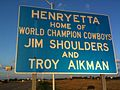 Henryetta, Oklahoma Home of Jim Shoulders and Troy Aikman.jpg