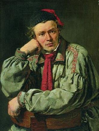 Hermann Ernst Freund - Hermann Ernst Freund portrayed by Christian Albrecht Jensen, 1835, Ny Carlsberg Glyptotek