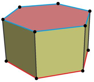 Hexagonal prism - Image: Hexagonal frustum
