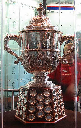 Clarence S. Campbell Bowl - Image: Hhof campbell