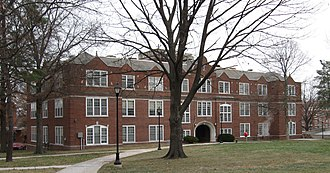 Stephens College South Campus Historic District - Hickman Hall