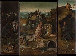 Gallerie dell'Accademia - Image: Hieronymus Bosch Hermit Saints Triptych