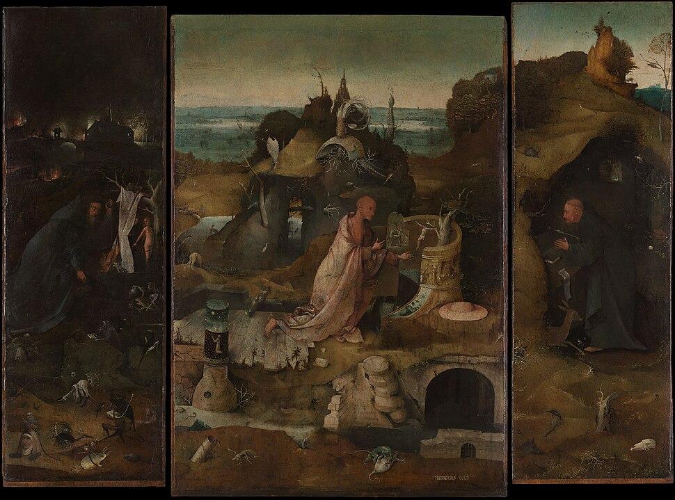 Hieronymus Bosch - Hermit Saints Triptych
