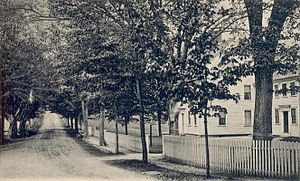 Marshfield Hills, Massachusetts - Highland Street c. 1905