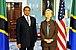 Hillary Clinton meets with Tanzanian President Jakaya Kikwete, May 2009-1.jpg