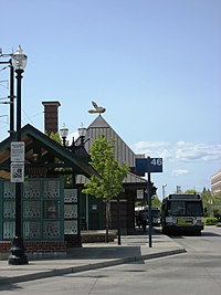 Hillsboro Central MAX station east.JPG