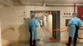 Hing Wah Estate II lockdown police block corridor 20210506.png