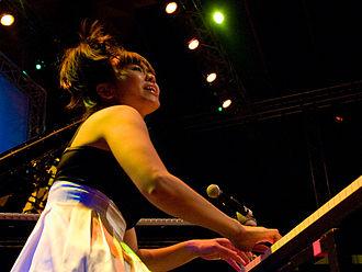 Hiromi Uehara - Hiromi at the Moers Festival, 2007