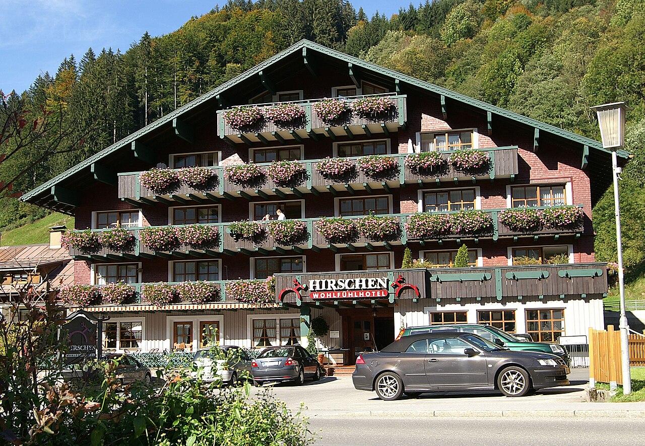Hotel Hirschen Silbertal Montafon Osterreich