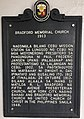 Historical marker of Bradford Memorial Church.jpg