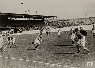 Field hockey at the 1928 Summer Olympics - Match between France and the Netherlands