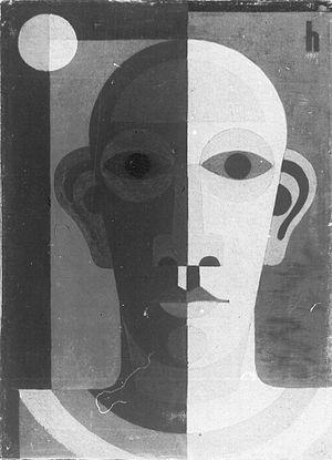 Heinrich Hoerle - Heinrich Hoerle Selfportrait