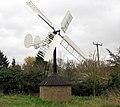 Hollow post windpump in Starston - geograph.org.uk - 1592950.jpg
