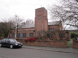 Blacon - Image: Holy Trinity Church, Blacon (1)