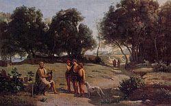 Jean-Baptiste Camille Corot: Homère et les Bergers
