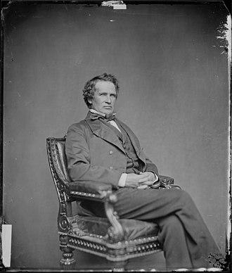 James W. Grimes - Image: Hon. James W. Grimes, Iowa NARA 528410