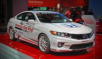 LA Auto Show - Honda Accord Racing