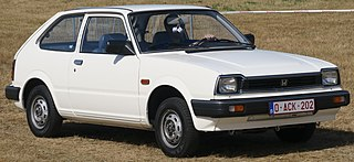 Honda Civic (second generation) Motor vehicle