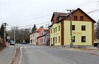Horšovský Týn, Malé Předměstí, Masarykova street.jpg