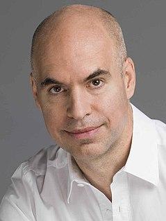 Horacio Rodríguez Larreta Chief of Government of Buenos Aires