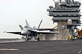 Hornet launches from USS Harry S Truman.jpg