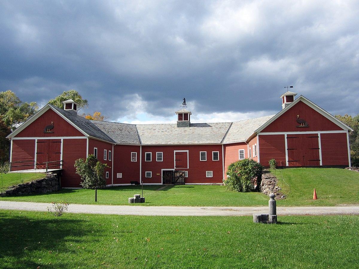 horseshoe barn and annex