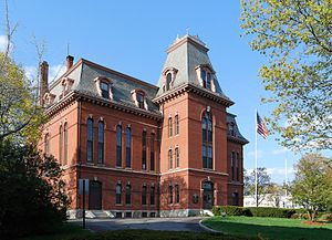 Hudson, Massachusetts - Hudson Town Hall, built in 1872