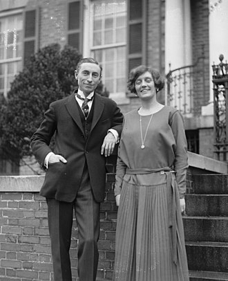 Hugh S. Gibson - Gibson and his wife in March 1922