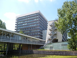 Huygens and Oort Buildings of the Faculty of Science Huygens and Oort Buildings.JPG