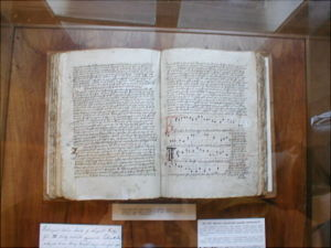 The hymn-book of Jistebnice.