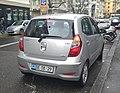 Hyundai I10 Swiss diplomatic plate (Cuba) (40853767052).jpg