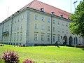 I. Bereitschaftspolizeiabteilung in München, Rosenheimer Str. 130, Aussenansicht Ecke St.-Martin-Str., Aufnahme 2006.jpg