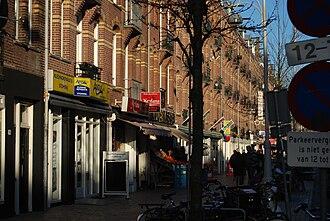 Amsterdam-Oost - Javastraat, Indische Buurt.